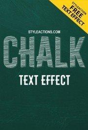 chalk-text-effect