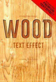 wood-text-effect-psd-action