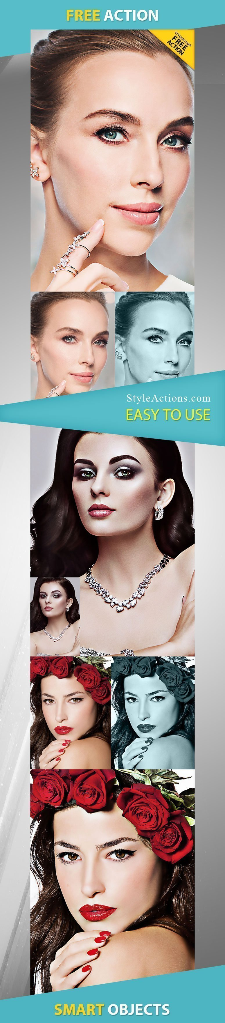 Retouching Photoshop Action Free Download #17351 - Styleflyers
