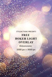 bokeh-light-overlay