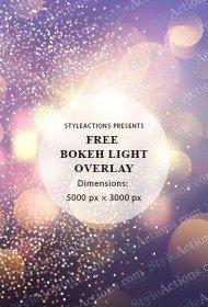 bokeh-light-overlay