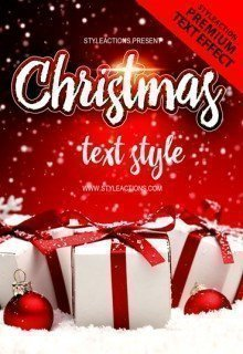 christmas-text-style
