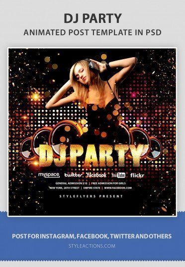 dj-party-animated-template