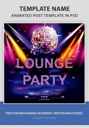 lounge-party-animated-template