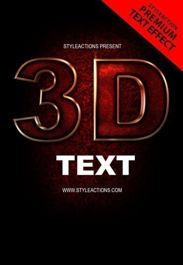 3d-text-ps-action