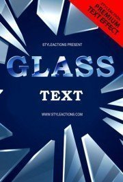 glass-text-psd-flyer-template