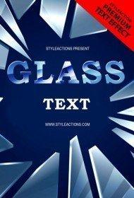 glass-text-psd-flyer-template