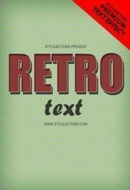 retro-text-effect-ps-action