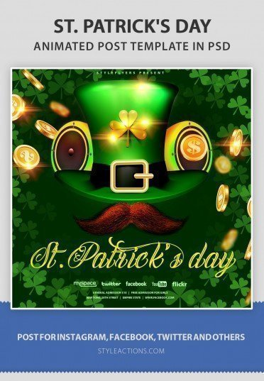 st-patrick-day-animated-template