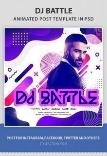 dj-battle-animated-template