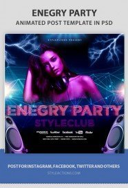 energy-party-animated-template