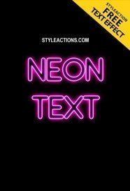 neon-text-ps-action