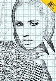 sketch-photoshop-action