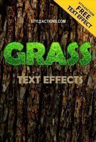 grass-text-effects