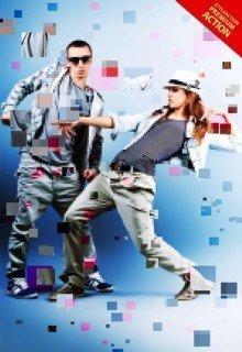 pixelated-photoshop-action