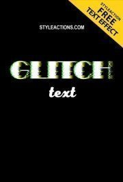 glitch-text-effect-ps-action