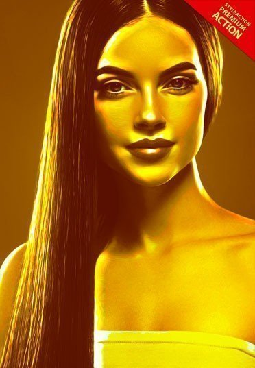gold-photoshop-action
