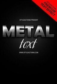 metal-text-effect-ps-action