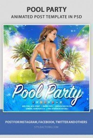 pool-party-ps-animated-template