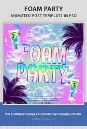 foam-party-animated-template