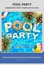 pool-animated-template