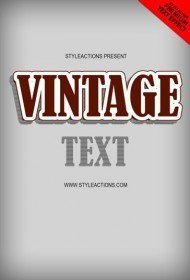 vintage-text-effect