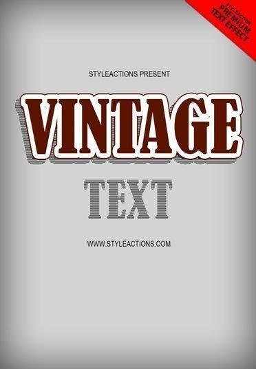 vintage-text-effect