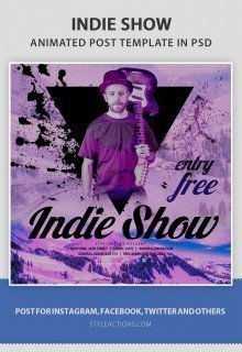 indie-show-animated-template
