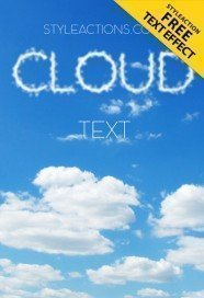 cloud-text-ps-action