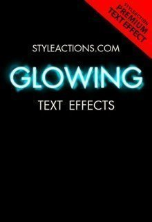 glowing-text-effects-photoshop-actions