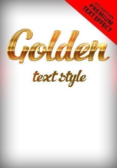 golden-text-action