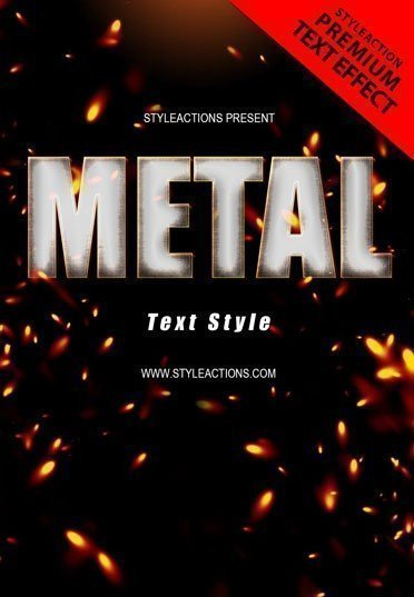 metal-text-style-action