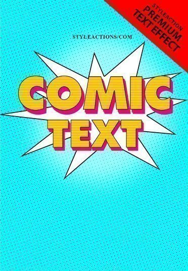 comic-text-effect