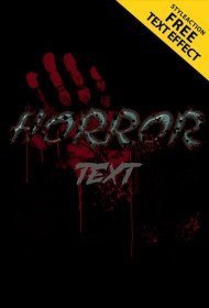 horror-text-effect
