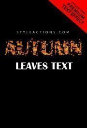autmn-leaves-text-action