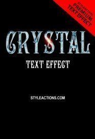 crystal-text-effect
