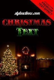 christmas-text-psd-flyer-template