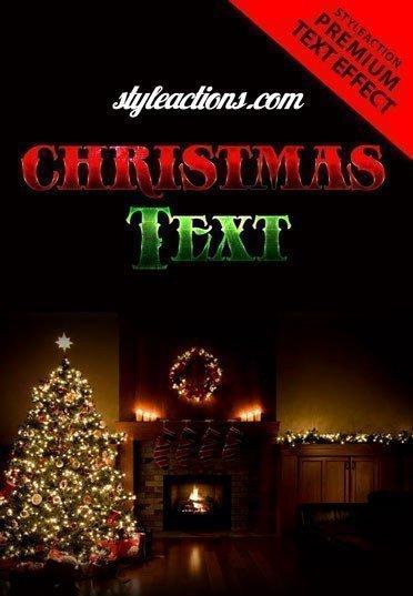 christmas-text-psd-flyer-template