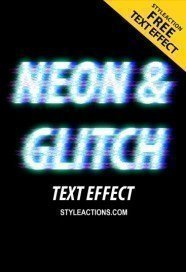 neonglitch-text-effect