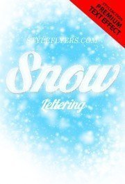 snow-lettering-ps-action