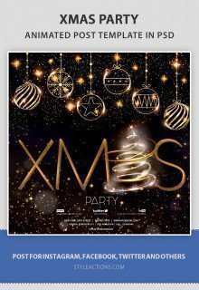 xmas-party-animated-template