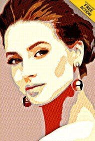 cartoon-pop-art-photoshop-action