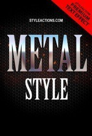 text-metal-style