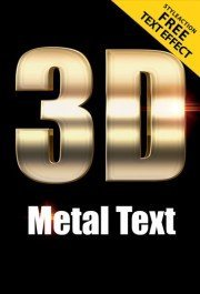 3d-metal-text-effect