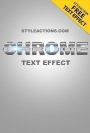 chrome-text-effect-ps-action