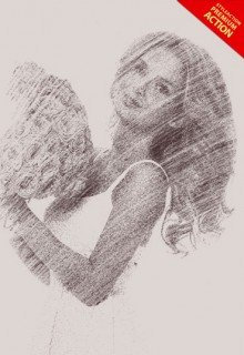 pencil-sketch-ps-action