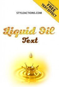 liquid-oil-text