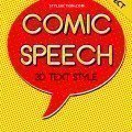 comic-speech-3d-text-style-effect