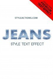 jeans-style-text-effect