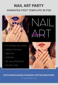 nailart-social-media-template